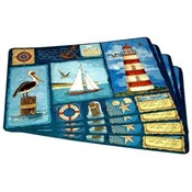 Nautical Design Placemat Set