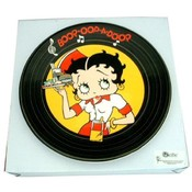 Betty Boop Diner Design Plate