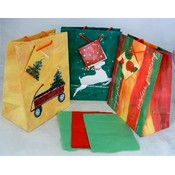 Set of 3 Flavia Designs Christmas Gift Bags Wholesale Bulk
