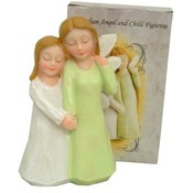 Guardian Angel & Child Figurine Wholesale Bulk