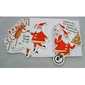 Christmas Puzzle Cards-6ct