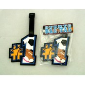 #1 Sports Bag ID Tag Wholesale Bulk