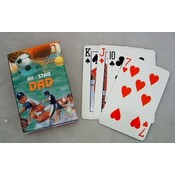 """All Star"" Dad Playing Cards"