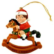 Campbell's Soup Rocking Horse Ornament