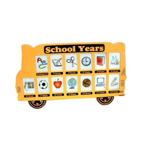 Amazoncom  School Bus Photo Frame  Picture Frames