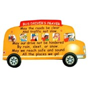 Bus Driver's Prayer Visor Clip
