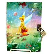 Disney Tinkerbell's Diary With Lock Wholesale Bulk