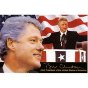 Arkansas Postcard 12152 Clinton 42Nd President Wholesale Bulk