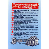 Arkansas Postcard 12154 You Know Wholesale Bulk