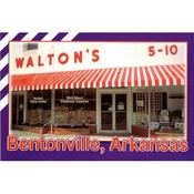 Arkansas Postcard 12162 Walton 5-10 Wholesale Bulk