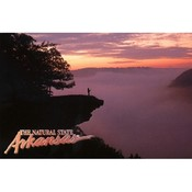 Arkansas Postcard 12166 Whitaker Point Fog Wholesale Bulk