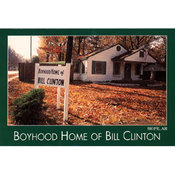 Arkansas Postcard 12170 Boyhood Home Bill Clinton Wholesale Bulk