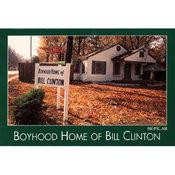 Arkansas Postcard 12170 Boyhood Home Bill Clinton Wholesale Bulk