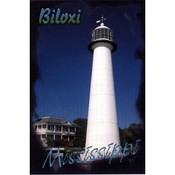 Mississippi Postcard 12316 Biloxi Lighthouse