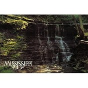 Mississippi Postcard 12326 Jackson Falls