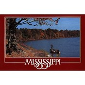 Mississippi Postcard 12329 Fishing
