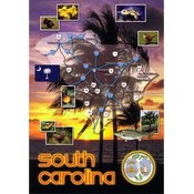 Jenkins South Carolina Postcard- State Map Wholesale Bulk
