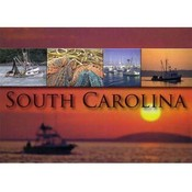 Jenkins South Carolina Postcard- Fishing Multiview Wholesale Bulk