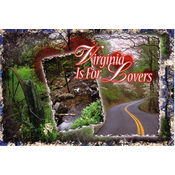 Virginia Postcard- Scenic Multiview