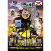 Florida Postcard- State Map