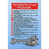 Missouri Postcard 12809 Missouri You Know