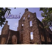 Missouri Postcard 12820 Ha Ha Tonka Castle
