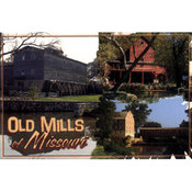 Missouri Postcard 12842 Old Mills Of Missouri