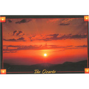 Ozarks Postcard 13039 Ozark Sunset Wholesale Bulk