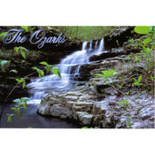 Ozarks Postcard 13040 Ozark Waterfall Wholesale Bulk