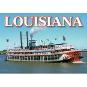 Louisiana Postcard 13210 Steamboat Natchez