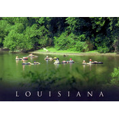 Louisiana Postcard 13211 Tubing