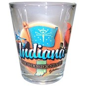"Indiana Shot Glass 2.25H X 2"" W Elements"