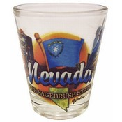 "Nevada Shot Glass 2.25H X 2"" W Elements"