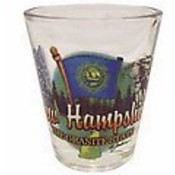"New Hampshire Shot Glass 2.25H X 2"" W Elements"