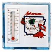 Arkansas Magnet Lucite Thermo State Map Wholesale Bulk