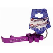 New Mexico Keychain Metal Bottle Opener Geiko