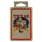 Texas Playing Cards State Map 24 Display unit