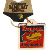 University Of Kansas Keychain Lucite