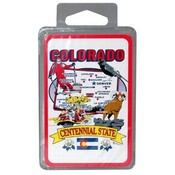 Colorado Playing Cards State Map 24 Display unit