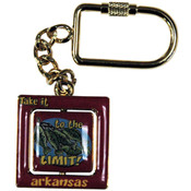 Jenkins Arkansas Spinner Keychain- Take It To The Limit Wholesale Bulk