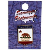 California Lapel Pin- Shield