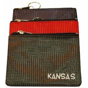 Kansas Keychain Coin Purse Dot
