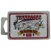 Tennessee Playing Cards- State Map