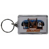 Jenkins Arkansas Lucite Keychain- Wildlife Wholesale Bulk