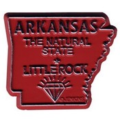 Arkansas Magnet 2D 50 State Red Wholesale Bulk