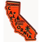 California Magnet 2D 50 State Orange