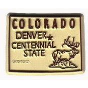 Colorado Magnet 2D 50 State White