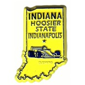 Indiana Magnet 2D 50 State Yellow