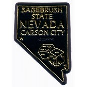 Nevada Magnet 2D 50 State Black