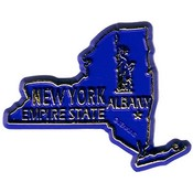 New York Magnet 2D 50 State Navy